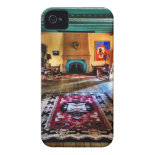 Southwestern Adobe Fireplace Room iPhone 4/4S Case