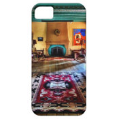 Southwestern Adobe Fireplace Room iPhone 5 Case