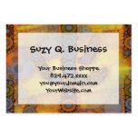 Southwestern Arizona Saguaro Cactus Mosaic Design Business Card Template