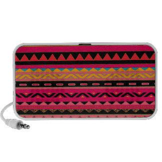 Southwestern Aztec Colorful Pattern PC Speakers