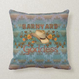 Southwestern Barnyard Goddess Pillow