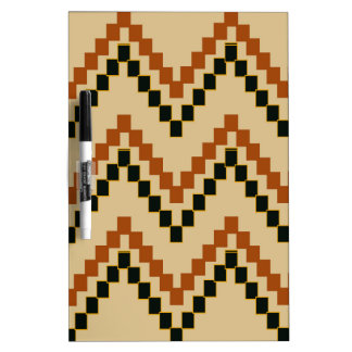 Southwestern Block Chevron Dry-Erase Board