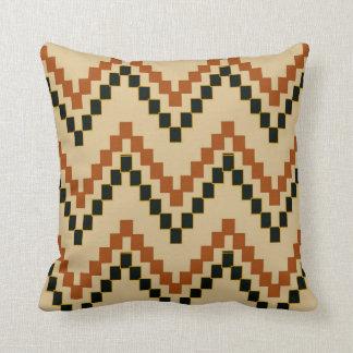 Southwestern Block Chevron Pillow