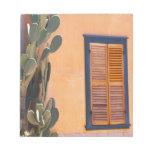Southwestern Cactus (Opuntia dejecta) and Memo Pads