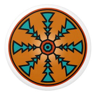 Southwestern Ceramic Knobs Ceramic Knob