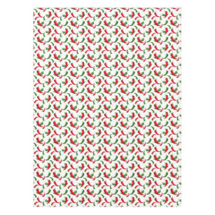 Southwestern Chili Pepper Pattern Tablecloth