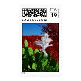 Southwestern Christmas Postage Stamp