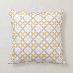 Southwestern Dakota Pattern throw pillow