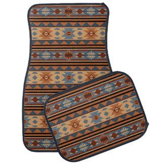 Southwestern Design Adobe Tan Gray Brown Car Floor Mat