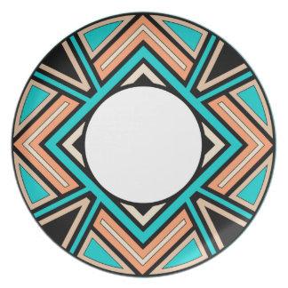 Southwestern Design southwestern plates | zazzle