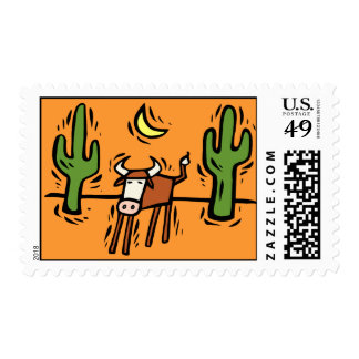 Southwestern Design Postage Stamp