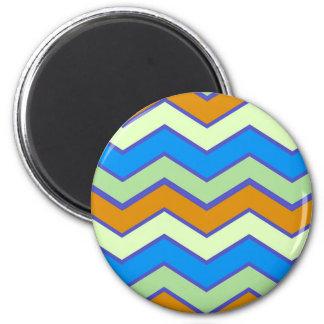 Southwestern Designer Majesty Zigzags Magnet