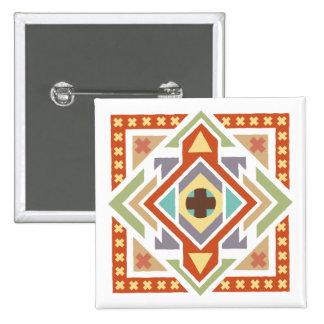 Southwestern Ethnic Tribal Pattern Button
