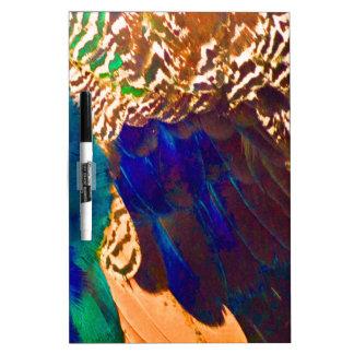 Southwestern Feathers Dry Erase Board