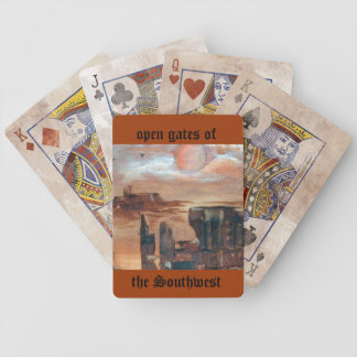 Southwestern gates bicycle playing cards