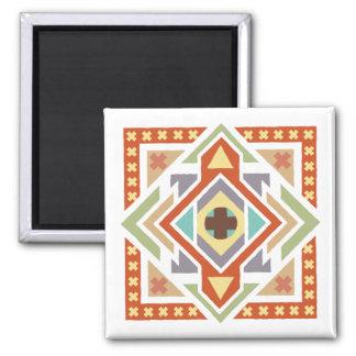 Southwestern Geometric Ethnic Pattern Magnet
