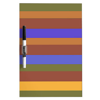 Southwestern Horizontal Stripes Dry Erase Board