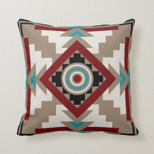 Earth Tone Throw Pillows.Southwestern Inspired Earth Tones Throw Pillow