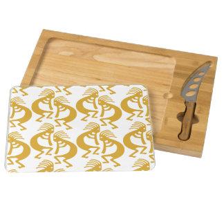 Southwestern Kokopelli Design Cheese Board