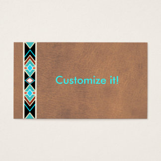 Southwestern Leather Business Cards