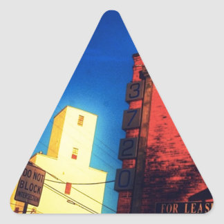 Southwestern Loneliness Triangle Sticker