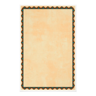 Southwestern Motif Stationery Paper