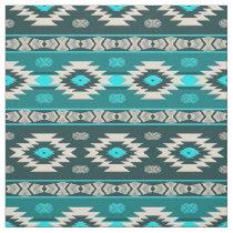 Southwestern navajo ethnic tribal pattern. fabric