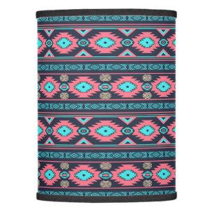 Ethnic lamp shades zazzle southwestern navajo ethnic tribal pattern lamp shade mozeypictures Images