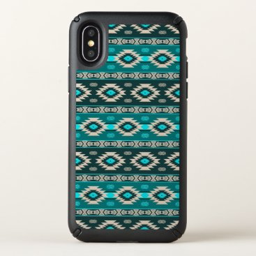 Aztec Themed Southwestern navajo ethnic tribal pattern. speck iPhone x case
