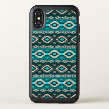 Southwestern navajo ethnic tribal pattern. speck iPhone x case