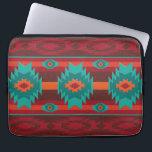 "Southwestern navajo tribal pattern computer sleeve<br><div class=""desc"">digital</div>"
