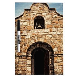 Southwestern Old Church Chapel Religion Dry Erase Board