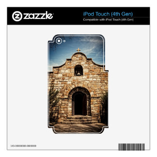 Southwestern Old Church Chapel Religion iPod Touch 4G Skins
