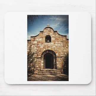 Southwestern Old Church Chapel Religion Mouse Pad