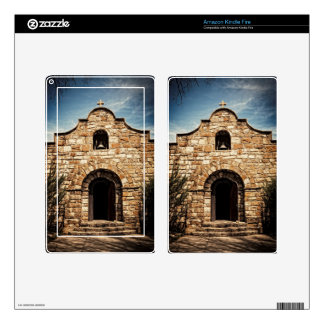 Southwestern Old Church Chapel Religion Skin For Kindle Fire