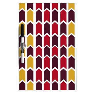 Southwestern Panel Fence Dry-Erase Board
