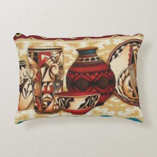 Southwestern pattern fun accent throw pillow