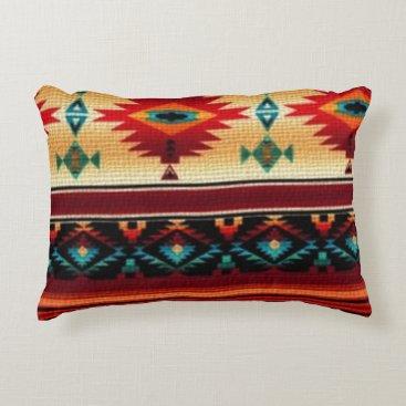 doodlesgifts Southwestern pattern fun accent throw pillow