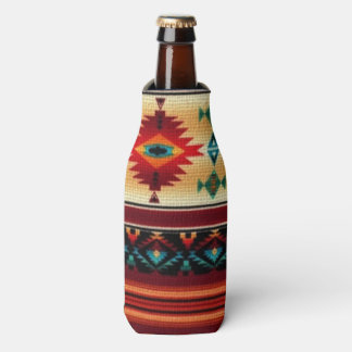 Southwestern pattern fun bottle cooler