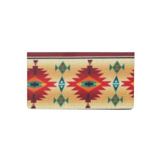 Southwestern pattern fun checkbook cover