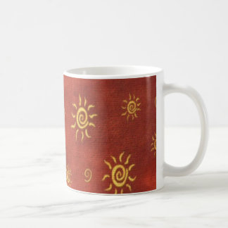 Southwestern pattern fun colorful coffee mug