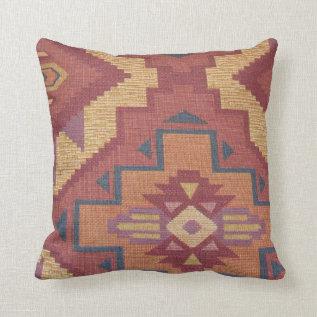 Southwestern Pattern Pillow at Zazzle