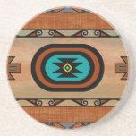 Southwestern Pueblo Design Drink Coaster