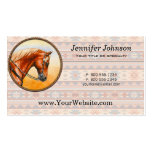 Southwestern Quarter Horse Double-Sided Standard Business Cards (Pack Of 100)