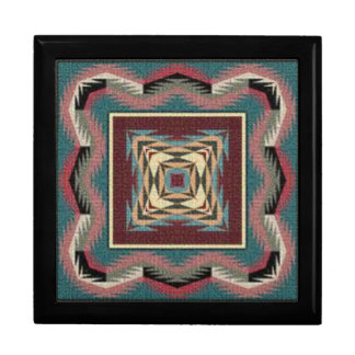 Southwestern Quilt Square Gift Box