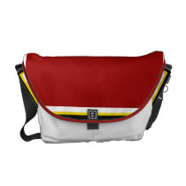 Southwestern Red Bird Messenger Bag