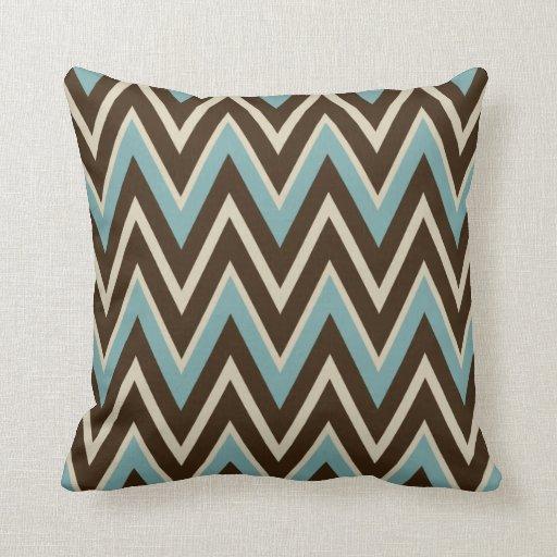 Southwestern Decorative Throw Pillows : Southwestern Retro Turquoise Throw Pillow Decor Zazzle