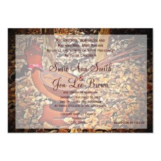 Southwestern Roadrunner Bird Wedding Invitations