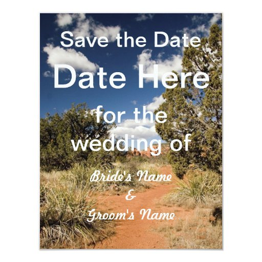 Southwestern Save the Date Card