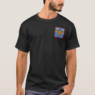 Southwestern Sea Turtle 2-Sided Dark Shirts